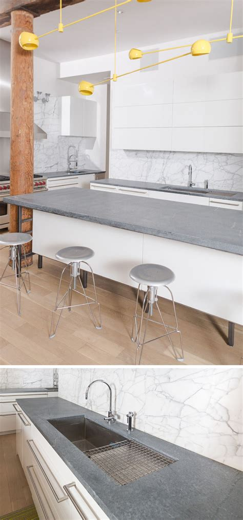 kitchen counter top materials kitchen design idea 5 unconventional materials you can