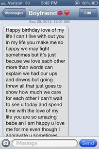 birthday text part 1 young in love pinterest texts