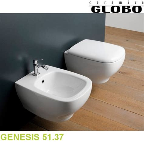 Bidet In Tagalog by Serie Genesis Globo Coppia Sanitari Sospesi 51 37