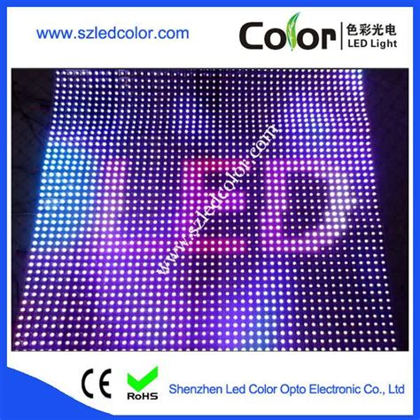 Led Matrix P10 apa102 p10 660leds led matrix soft board display