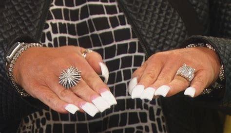 Long Island Media Thersa Long Fingernails   long island medium nails nails pinterest long island