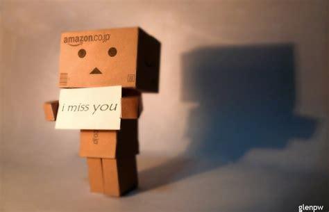 Boneka Kelinci I Miss You 28cm danbo i miss you boneka danbo danbo galau cukup sepi ku yang berucap tak perlu lagi aku