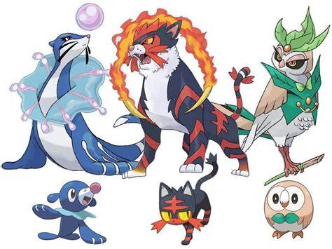 imagenes de pokemon sol y luna iniciales iniciales pokemon sol y luna images pokemon images