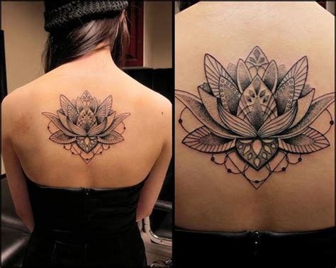 tattoo mandala melbourne dotwork by kel tait melbourne australia lotus flower