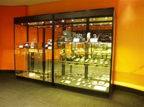 Showfront Display Cabinets For Telstra Museum Showfront