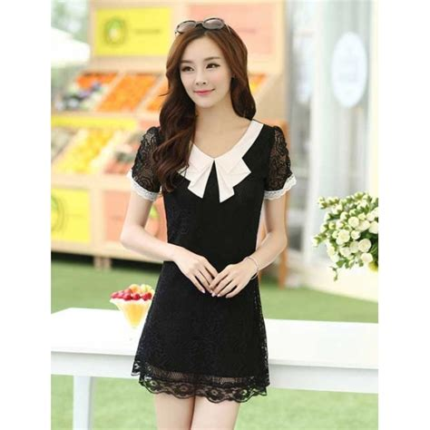 Dress Wanita Brukat dress wanita model brukat d1769 moro fashion