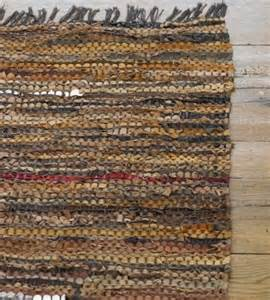 leather rug scrap leather rug vivaterra contemporary rugs by