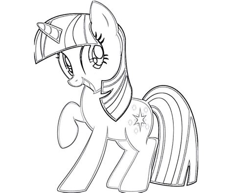 7 twilight sparkle coloring page