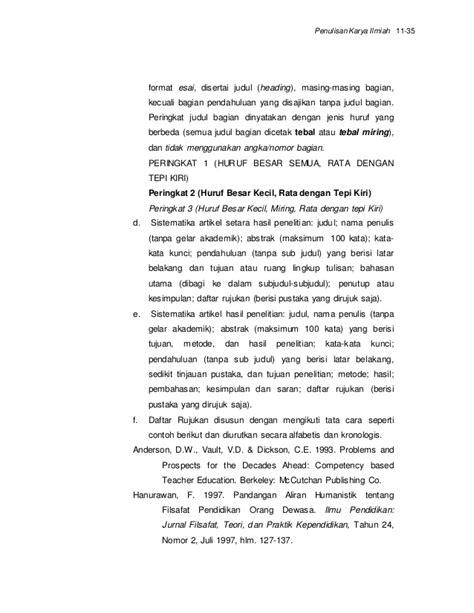 format muka depan esai ilmiah penulisan karya tulis ilmiah