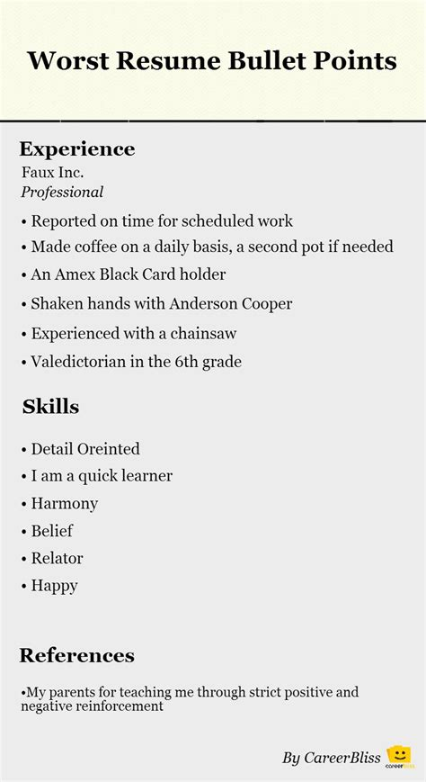 Intern Resume Bullet Points Bullet Points Exles Resume Format Web Updated Click To Enlarge Data Scientist 7 If You