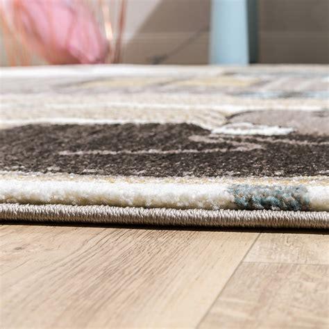 teppich kinderzimmer erfahrungen kinderteppich b 228 ren design pastellt 246 ne creme kinder teppiche