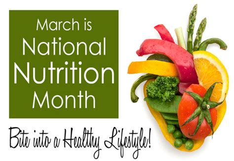 Get Decked Out For National Month by March Is National Nutrition Month San Francisco Va