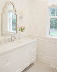 Bathroom Wallpaper Marble 25 Best Bathroom Wallpaper Ideas On Half