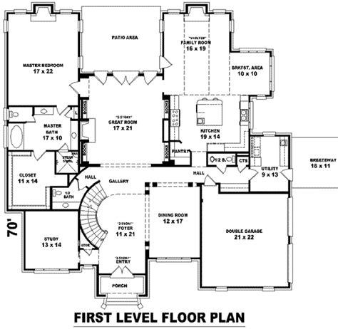 European Style House Plan 6 Beds 4 00 Baths 8232 Sq Ft 1350 Sq Ft House Plan