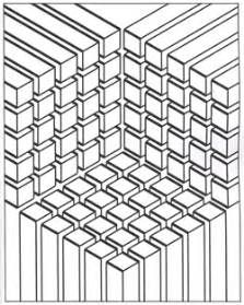 optical illusion coloring pages modern patterns optical botanical circular linear