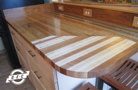 Cutting Board Kitchen Countertop by Cherry Countertop With Maple And Cherry Inlay Cutting Board