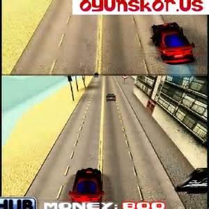 İkili araba yarışı , oyun skor