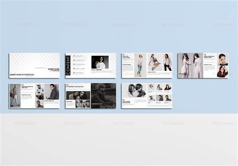 Fashion Portfolio Catalog Template In Psd Word Publisher Indesign Fashion Portfolio Template