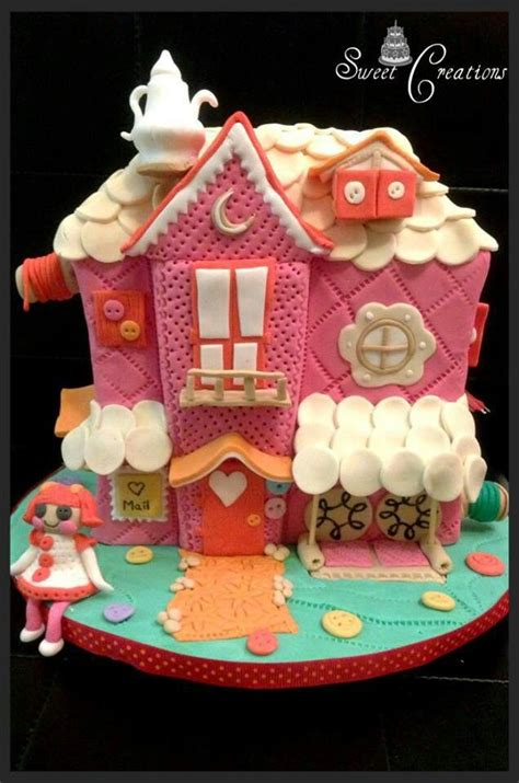 dolls house cakes doll house birthday cake baked cakes pinterest birthday cakes birthdays and