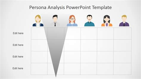 powerpoint layout meaning persona analysis powerpoint template slidemodel