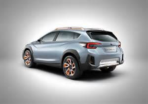 Subaru Xc Subaru Xv Concept Previews Next Crosstrek