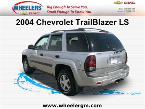 auto repair manual online 2004 chevrolet trailblazer spare parts catalogs service manual chevrolet trailblazer 2004 owners manual download service manual chevrolet