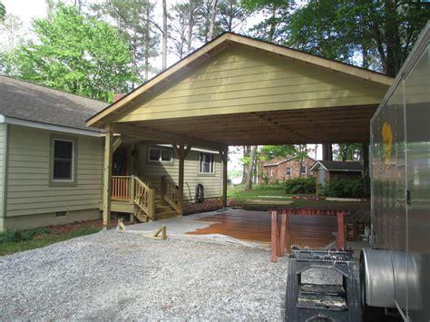 porch and carport construction carolina construction