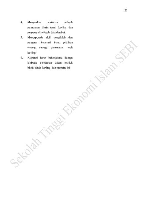 Buku Murah Analisis Kredit Untuk Credit Account Officer Jopie jurnal strategi pengembangan bisnis tanah kavling pada ksu bina usaha