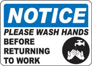 Online Bathroom Design Tool by Notice Please Wash Your Hands Sign D5683 By Safetysign Com