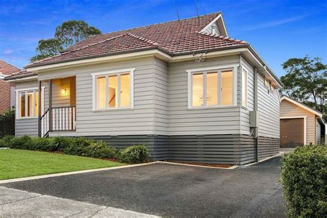 1950 S Weatherboard Renovations Google Search Outdoor Colour Scheme Pinterest