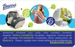 Boscov S Discount Gift Cards - boscov s 25 gift card rewards store swagbucks