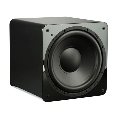 Speaker Acr Black 12 Inch svs sb 1000 subwoofer 12 inch driver 300 watts rms