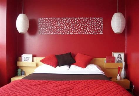 17 Hot Red Bedroom Wall Ideas To Spice Up Your Life