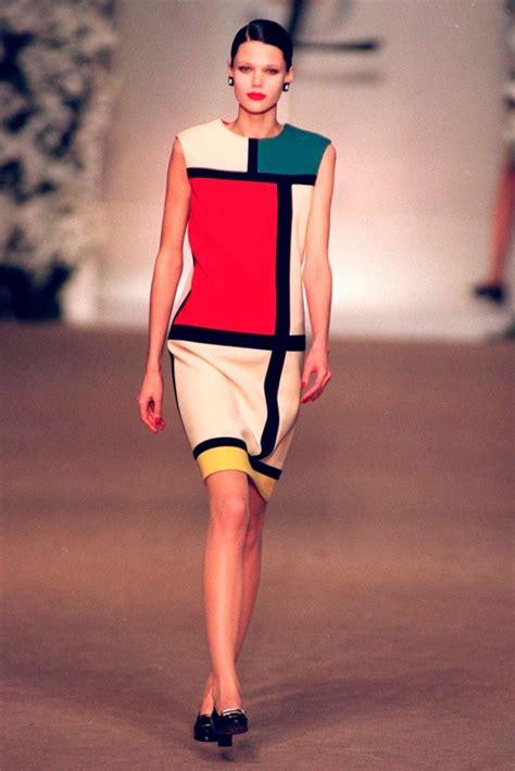 ysl design inspiration the mondrian dress ysl s autumn winter 1965 collection