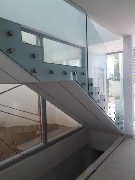 escaleras con barandilla de cristal barandilla para escalera interior vidrestore
