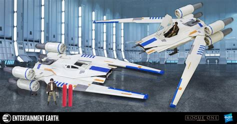 Hasbro Rogue One Rebel X Wing Fighter bring the fight to the empire with the rogue one u wing