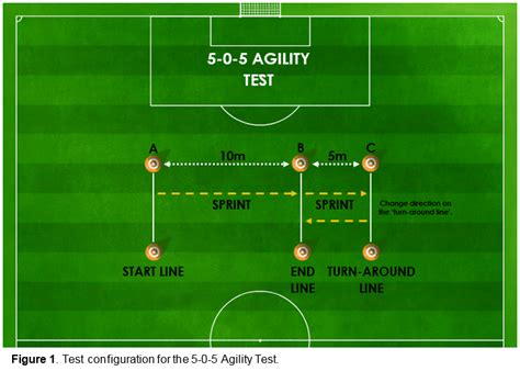 2 sle t test 5 0 5 agility test science for sport