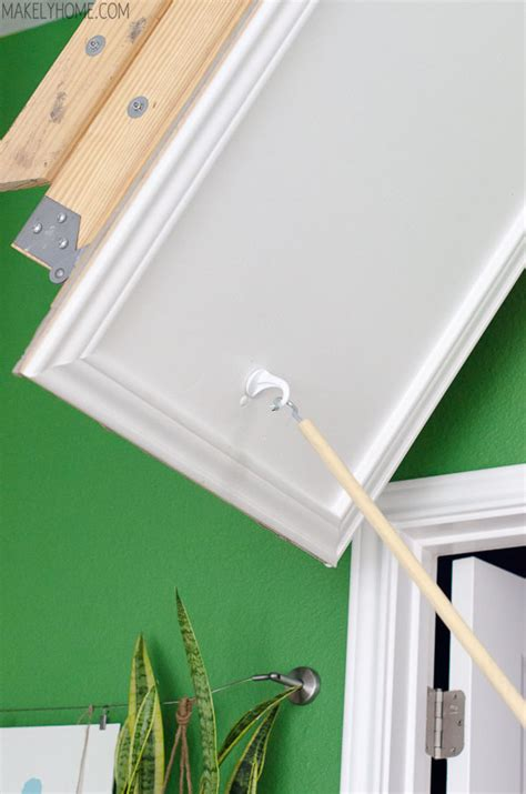how to replace a l cord how to replace attic cord with hook and pull attic door