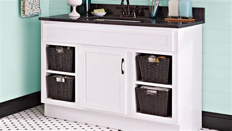 Refacing Old Kitchen Cabinets Paint A Bathroom Vanity