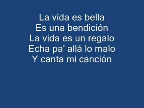 as es la vida 8495333724 ana isabelle la vida es bella ft chino nacho lyric hq youtube