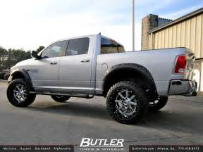 dodge ram with 22in fuel maverick wheels additional