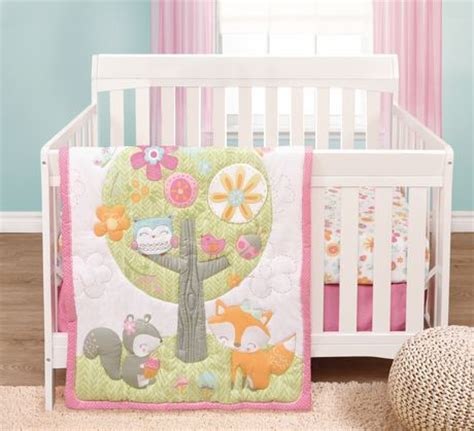 forest crib bedding adorable forest fairytales crib bedding garanimals