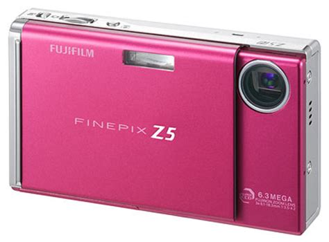 Fujifilm Finepix Z5m Ultracompact Digicam In Pink by Digicamreview Fujifilm Finepix Z5fd Announced