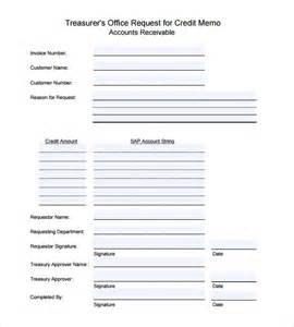 Credit Memorandum Template Sle Credit Memo 7 Documents In Pdf Word