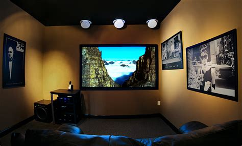 Small Home Theater Rooms Designs Elite Audio Small Theater Room