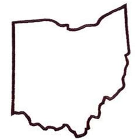 oklahoma embroidery embroidery design ohio outline 4 24