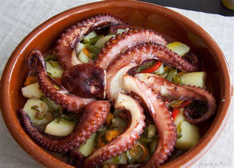 como se cocina el pulpo pulpo con verduras al horno 187 la cocina de minia