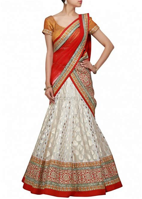 how to drape a lengha saree dupatta 2 shaadi bazaar