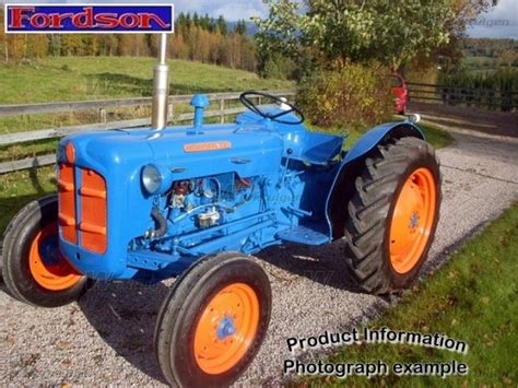 fordson dexta fordson machinery specifications