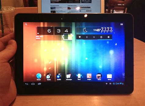 Samsung Galaxy Tab 1 P7500 samsung galaxy tab 10 1 gt p7500 starts receiving android